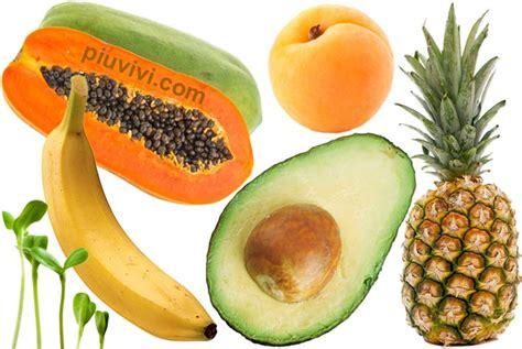 alimenti ricchi alimenti ricchi di enzimi