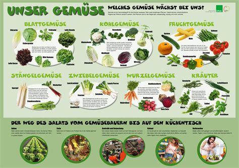 Garten Gemüse Pflanzen Kalender obst und gem 252 se saisonkalender german language