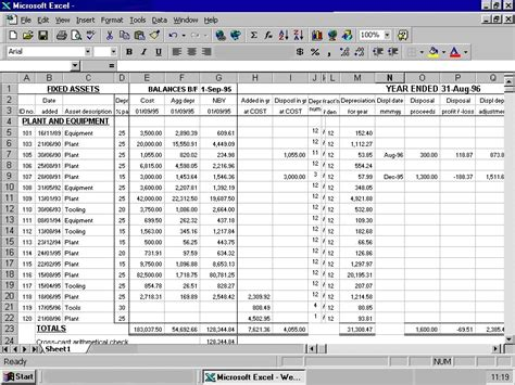 fixed asset register excel template 10 best images of asset register spreadsheet asset