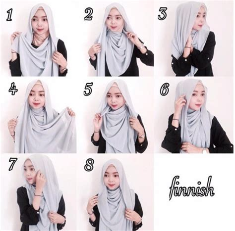 tutorial hijab gaul aneka tutorial hijab modern gaul masa kini terbaru