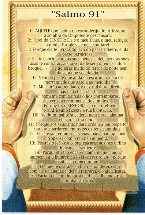 salmo 91 en espanol salmo 91 positivity and good advices pinterest