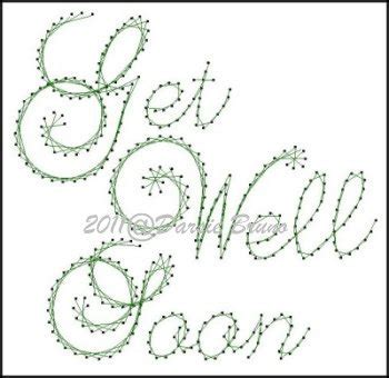 pattern paper greeting card get well soon sentiment paper embroidery pattern for greeting