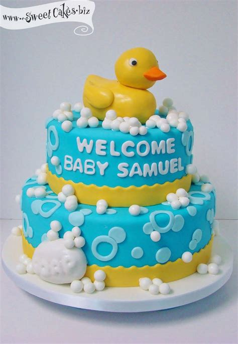 Rubber Duckie Baby Shower Cake by Rubber Duckie Baby Shower Cake Baby Shower Ideas