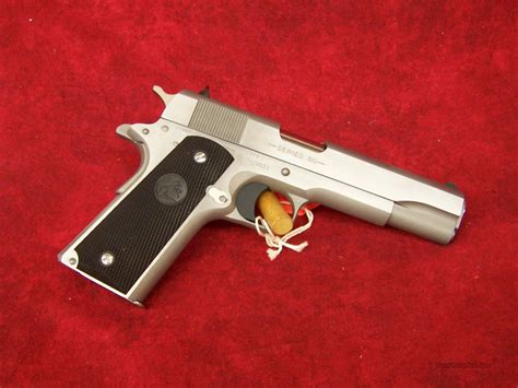 1991 colt government 45acp stainless colt government model m1991a1 stainless 45 acp for sale
