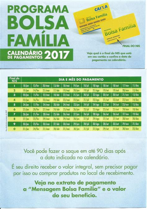 requisitos inscri 231 227 o valor e calend 225 do bolsa fam 237 lia