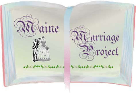 Maine Marriage Records Usgenweb Archives Maine Marriage Applications