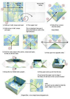 origami techniques tutorial magic boxes origami box with wrap lid tutorial