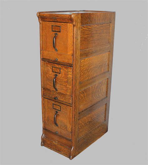 Bargain John's Antiques   Quarter sawn Oak File Cabinet