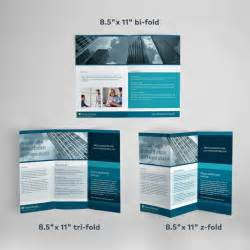 Tri Fold Brochure Template Pages by Custom Brochure Printing Vistaprint