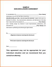 Non Disclosure Confidentiality Agreement Template by Doc 400518 Confidentiality Agreement Form
