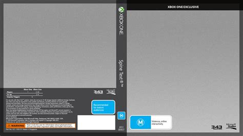 xbox one cover template xbox one cover template version 1 1 by rmkar9 on