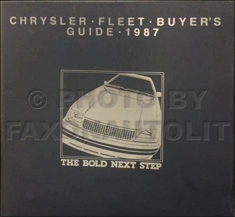 1987 Dodge Dakota Rwd Repair Shop Manual Original