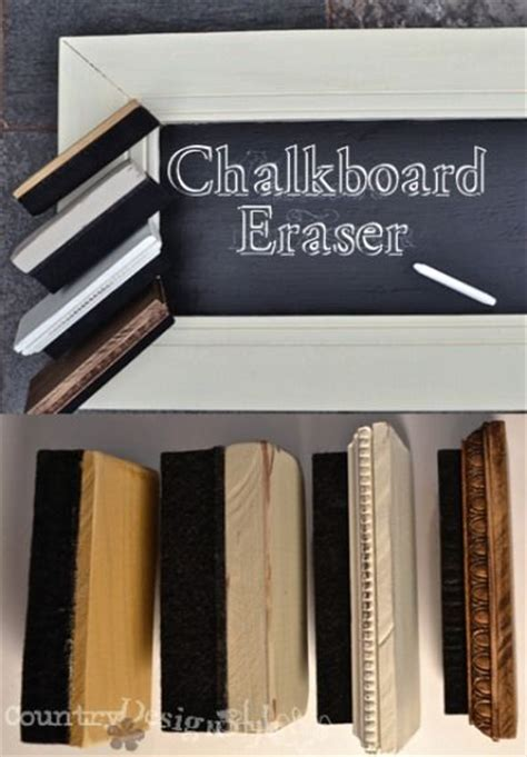 diy chalkboard duster 8 best images about chalkboard eraser ideas on
