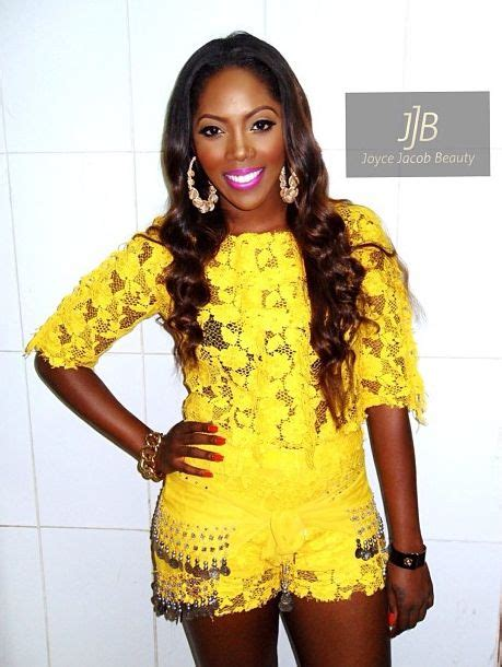 omotla nigerian styles with lace dresses chic in yellow see tiwa savage s look to the 2013 summer