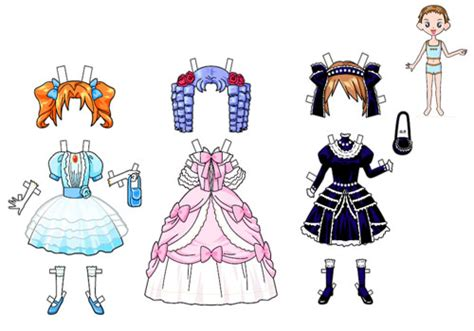 Paper Dress Up Dolls Template 28 paper dress up dolls template paper doll clothes