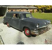 1956 FORD COURIER 2 DOOR SEDAN DELIVERY  GREAT PROJECT