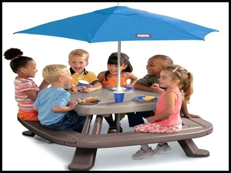 toddler picnic table with umbrella tikes picnic table with umbrella picnic