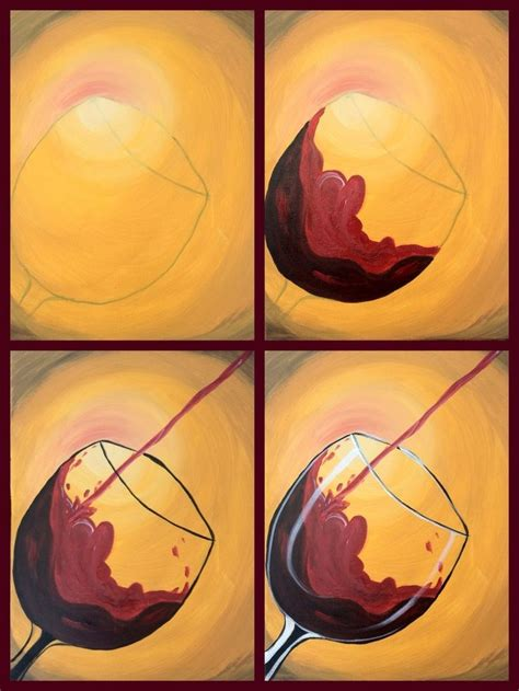 glass acrylic painting best 25 wine glass drawing ideas on pinterest diy