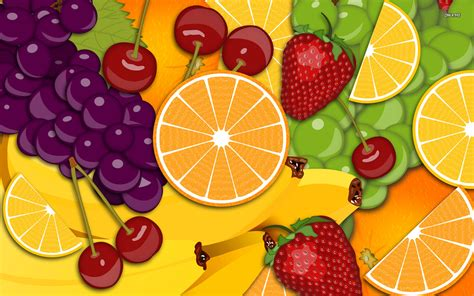 wallpaper cartoon fruit fruit images fruit punch hd wallpaper and background