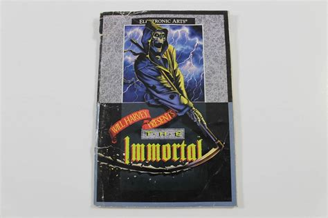 sega genesis manuals manual the immortal sega genesis