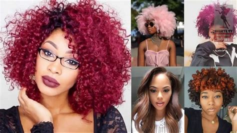 american hair color 2018 hair color trends for american hair