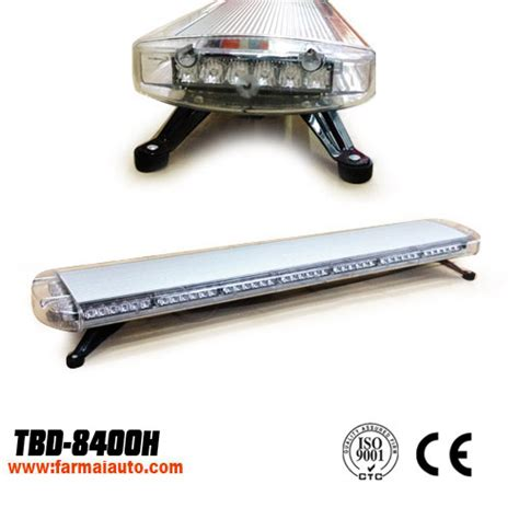 Lu Polisi Lightbar Led Tbd 8400 led warning light bar yellowstrobe light 8400h 8400h