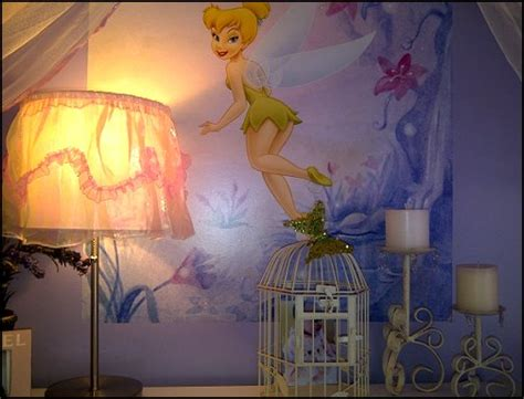 tinkerbell bedroom wallpaper decorating theme bedrooms maries manor fairy tinkerbell