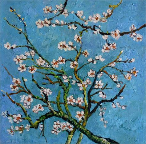 quality hand painted oil painting repro van gogh almond