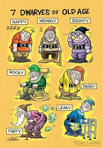 printable old age jokes saga of the 7 dwarves in the 21st century reflections of