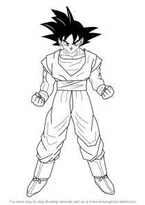 z drawing how to draw goku from z