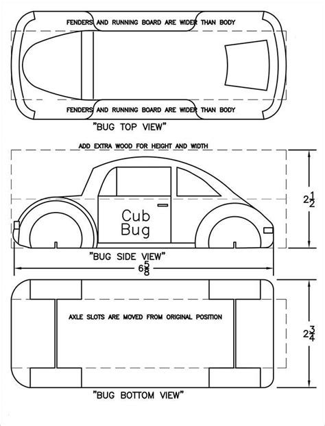 free pinewood derby templates printable free pinewood derby template pinewood derby