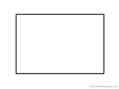 shape rectangle coloring pages only coloring pages