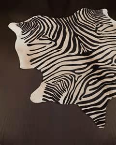 hide rug quot zebra quot hide rug