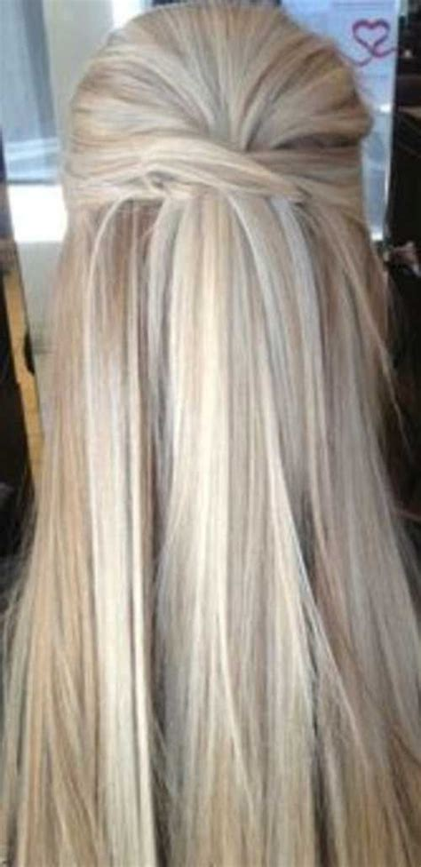 hairstyles for straight hair half up half up hairstyle straight long hair my style