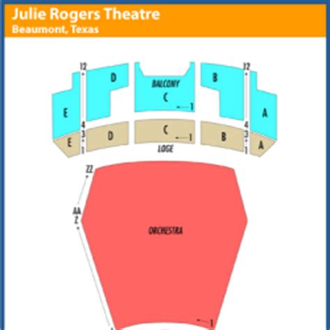 julie rogers theater beaumont tx seating chart julie rogers theatre events and concerts in beaumont