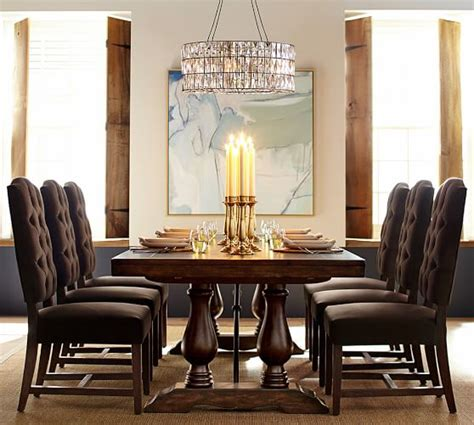 pottery barn dining table for sale gorgeous wood dining