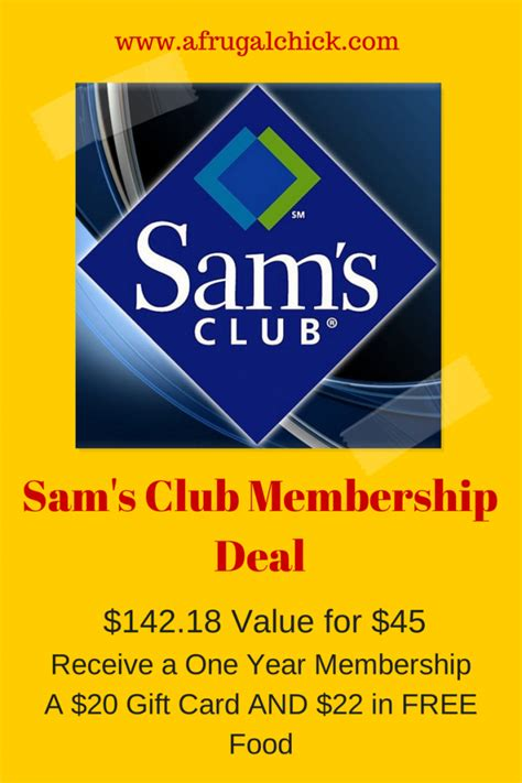 Sam S Club Iphone Gift Card Deal - free sams club membership 2017 mega deals and coupons