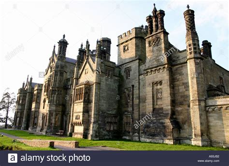 style mansions tudor style mansion house stock photo