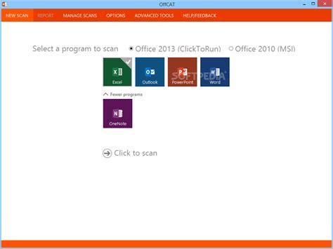 microsoft office configuration analyzer tool offcat