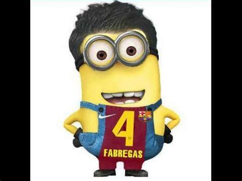 Football Minions Arsenal fabregas football minion football minions