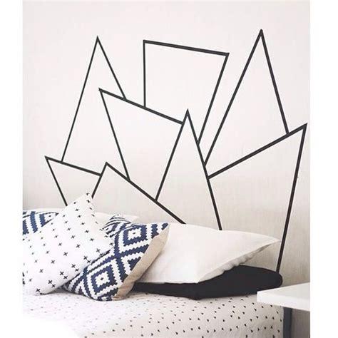 washi tape bedroom 25 best ideas about washi tape headboard on pinterest