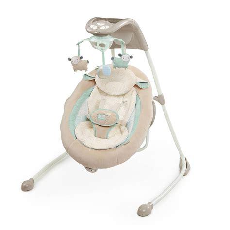 baby infant ingenuity inlighten cradle swing with