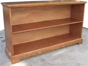 Wood Bookshelves Plans Low Bookcase Plans Woodwork