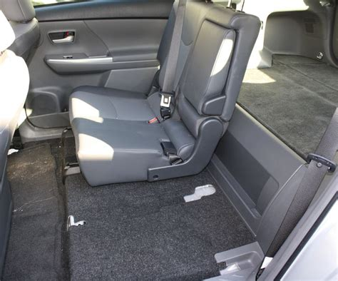boat seats that recline toyota 2017 the rear seats in the 2012 toyota prius v