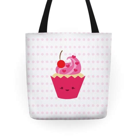 New Totebag Cup Cake B lil cupcake tote bags grocery bags and canvas bags