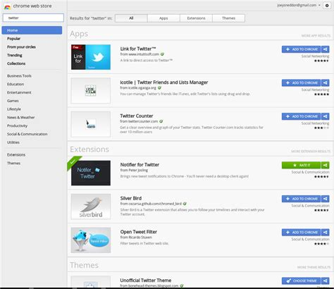 themes in chrome store chrome web store search results now show top 3 apps add