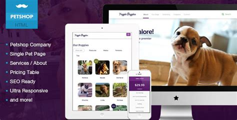 15 Best Responsive Animal Pet Html Website Templates Tutorial Zone Free Pet Store Website Templates
