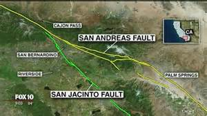 Scientists say san andreas fault ready for quake story ksaz