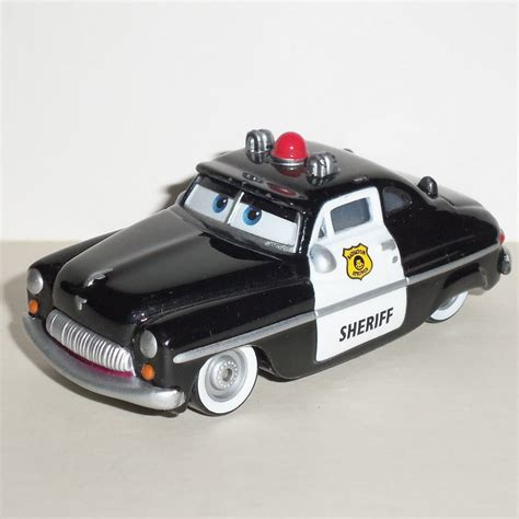 Disney Pixar Cars Sheriff Car disney pixar cars die cast vehicle sheriff car mattel used