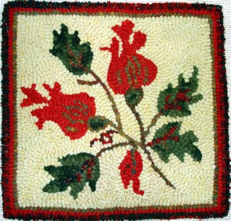 green mountain hooked rugs kit seasons green mountain hooked rugs